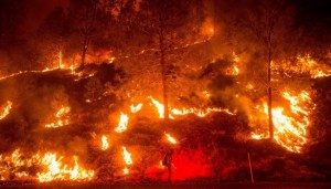 YOUTUBE Caldo record e incendi in California: oltre 50 gradi