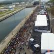 """Panama: nuovo canale """"italiano"""" inaugurato da mega nave cinese FOTO-VIDEO"""