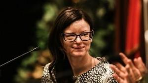 Guarda la versione ingrandita di Cristiana Capotondi sarà Lucia Annibali: le FOTO del trucco