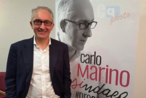 Ballottaggio Caserta 2016, Carlo Marino (centrosinistra) sindaco