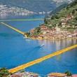 Passerella di Christo sul lago, nuova chiusura notturna: troppi visitatori
