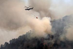 Guarda la versione ingrandita di Cipro, sparatoria nel ristorante e incendi: turismo a rischio
