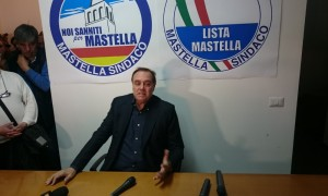 Ballottaggio Benevento 2016, Clemente Mastella sindaco