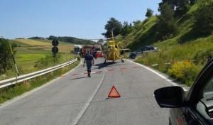 Colfiorito, incidente mortale sulla statale 77: morta una donna