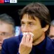 Belgio-Italia, Antonio Conte si ferisce al naso FOTO