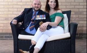 Guarda la versione ingrandita di YOUTUBE Hannah Campbell e Rick Clement, ex soldati mutilati ora...