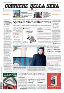 Guarda la versione ingrandita di Visco, migranti, Euro 2016: le prime pagine dei giornali