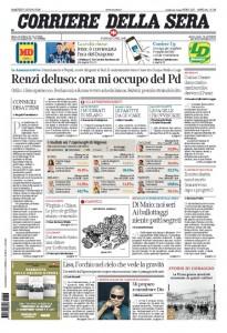 Guarda la versione ingrandita di Matteo Renzi, elezioni, Raggi: le prime pagine dei giornali