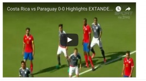 Costa Rica-Paraguay 0-0: highlights Coppa America 2016