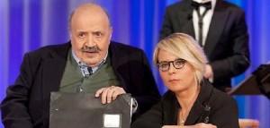 """Guarda la versione ingrandita di Maurizio Costanzo: """"Maria De Filippi? Non sono il marito di…"""""""