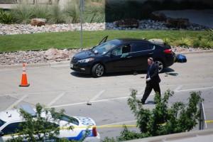 Guarda la versione ingrandita di Dallas, paura in aeroporto: polizia spara
