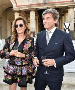 Daniela Santanchè e Dimitri D'Asburgo: primo red carpet di coppia