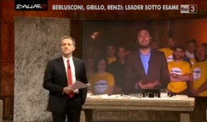 """VIDEO YOUTUBE Alessandro Di Battista a Ballarò: """"Giannini ma che stai a dì..."""""""