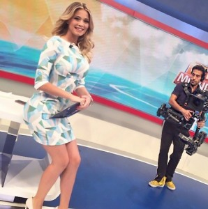 Diletta Leotta, dove guarda il cameraman? FOTO