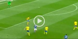 """Italia-Svezia 1-0, Eder VIDEO gol: numero """"alla Messi"""""""