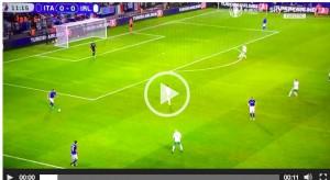 VIDEO, Italia-Irlanda: Fabio Caressa e la nebbia che vede solo lui...