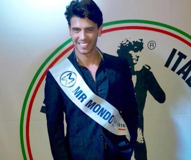 Mister Mondo 2016: Federico Carta rappresenta l'Italia3