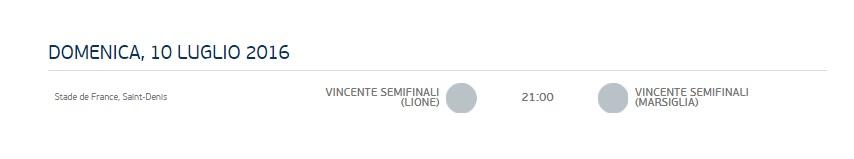 Euro 2016 ottavi di finale: calendario e orari 04