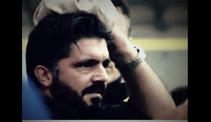 Foggia-Pisa, Gattuso colpito da bottiglia VIDEO - FOTO