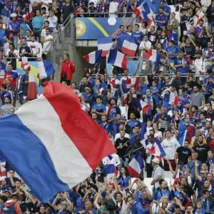 Guarda la versione ingrandita di Francia agli ottavi, 2-0 all'Albania: FOTO e tabellino