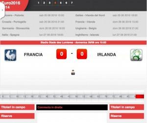 Francia-Irlanda: diretta live ottavi Euro 2016 su Blitz. Formazioni