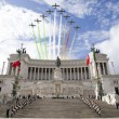 VIDEO YOUTUBE Frecce Tricolori, acrobazie a parata 2 giugno 8