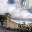 VIDEO YOUTUBE Frecce Tricolori, acrobazie a parata 2 giugno 2