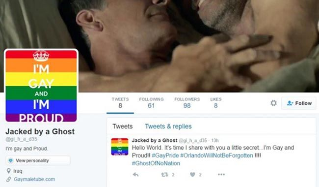 Isis, Anonymous hackera profili Twitter con scritte pro-gay FOTO 3