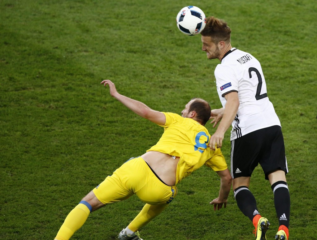 Germania-Ucraina 1-0 diretta. Video gol highlights: Mustafi_10
