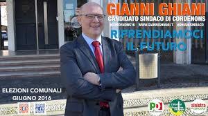 Guarda la versione ingrandita di Comunali Cordenons, ballottaggio Ghiani (nella foto) -Delle Vedove