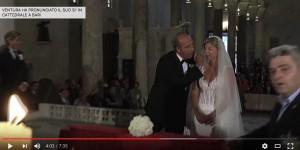Giampiero Ventura-Luciana Lacriola sposi a Bari