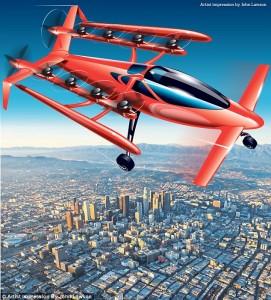 """Google, il fondatore Larry Page investe in """"macchine volanti""""?"""