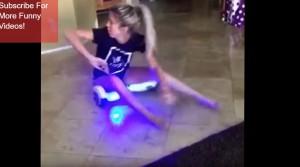 YOUTUBE Hoverboard in casa, ragazza si schianta contro il muro