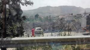 Palermo, tanti incendi tutti insieme. Forse qualcuno li appicca