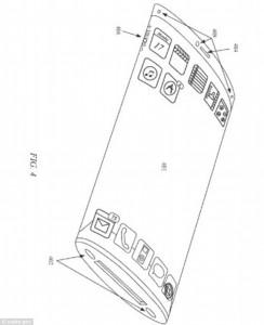 Guarda la versione ingrandita di Apple, iPhone 360: uno smartphone tutto schermo? Il nuovo brevetto…
