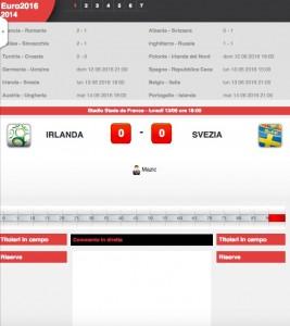 Irlanda-Svezia: diretta live Euro 2016 su Blitz con Sportal