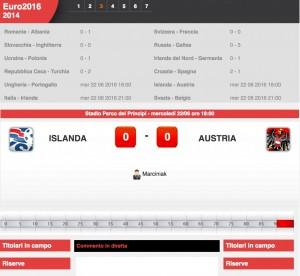 Islanda-Austria: diretta live Euro 2016 su Blitz. Formazioni