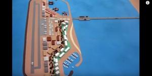 Guarda la versione ingrandita di YOUTUBE Israele progetta isola di fronte a Gaza con porto e aeroporto