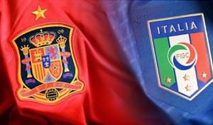 """Italia-Spagna, finale anticipata ma con Conte """"Podemos"""""""