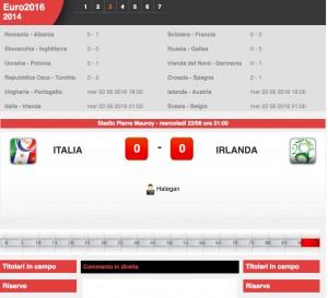 Italia-Irlanda: diretta live Euro 2016 su Blitz. Formazioni