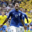Italia-Svezia 1-0. Video gol highlights, foto e pagelle