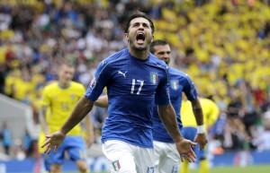Italia-Svezia 1-0. Video gol highlights, foto e pagelle