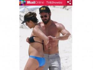 """Guarda la versione ingrandita di Jennifer Aniston incinta? Smentita: """"Un abbondante pasto…"""""""