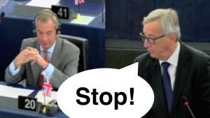 """Brexit. Bruxelles, Juncker a Farage: """"E tu che cosa ci fai qui?"""""""