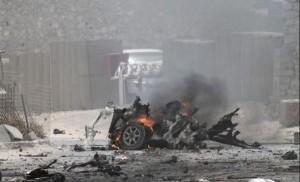 Guarda la versione ingrandita di Mogadiscio, assalto all'hotel: kamikaze e sparatoria, 7 morti