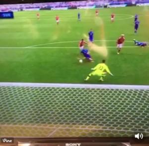 Robson Kanu VIDEO gol in Galles-Slovacchia 2-1