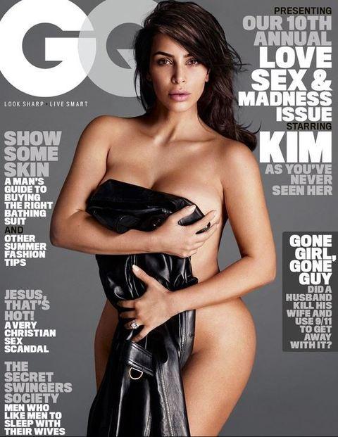 """Kim Kardashian senza veli su GQ: """"Sogno che si realizza"""" FOTO"""