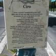 Ciro Esposito, lapide a Roma imbrattata con vernice FOTO2
