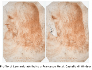 Leonardo, scoperto suo profilo: è nel Codice Atlantico3