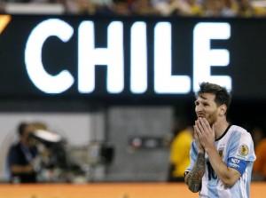 Guarda la versione ingrandita di Lionel Messi EPA/JASON SZENES